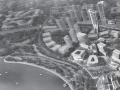 [广东]珠海高新科技园区总部建筑方案图