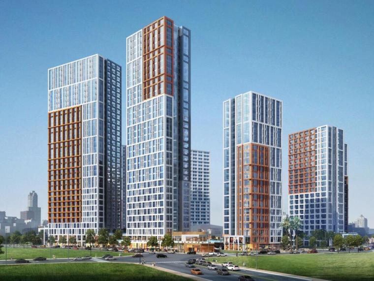 [广东]现代风格住宅建筑概念设计(PDF+52