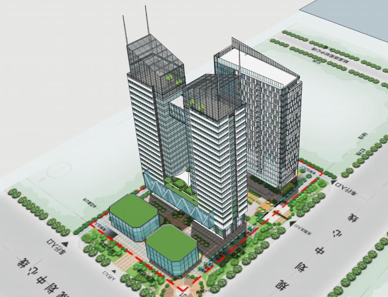 [安徽]企业总部基地建筑概念设计方案图