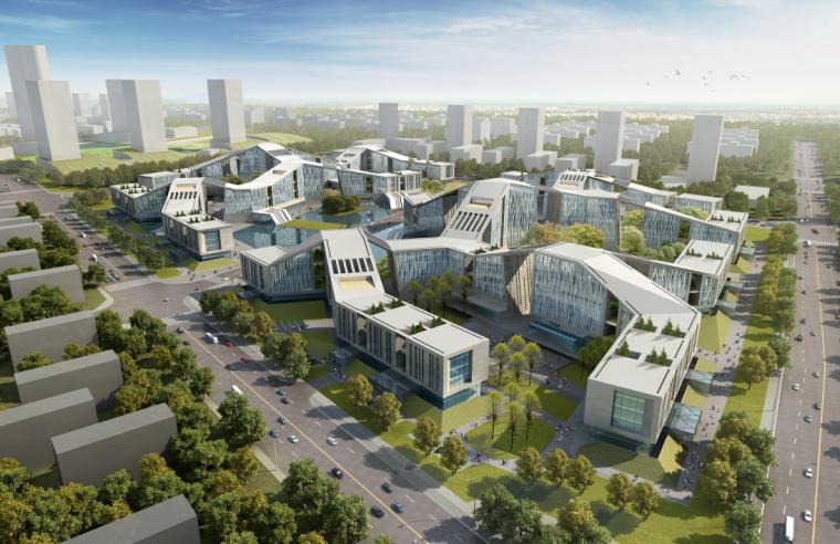 [天津]高端综合多元化产业园区规划方案图图片