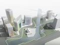 [浙江]软件创意动漫文化产业园区建筑方案图