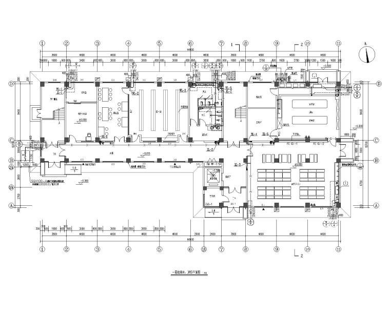 教师进修学校综合楼给排水设计施工图
