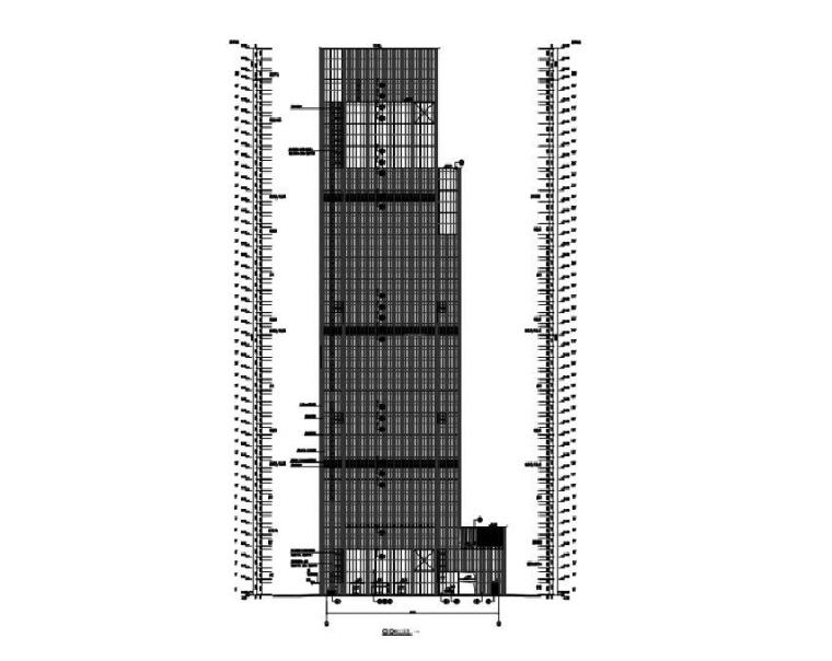 办公大楼建筑立面图