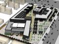 新中式商业街建筑模型设计