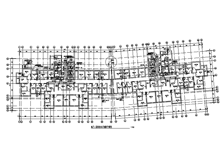 江苏三十三层住宅楼给排水设计施工图