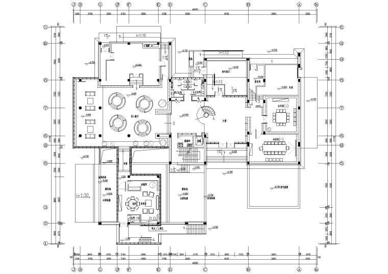 [成都]青羊南区A2栋办公楼装修工程施工图