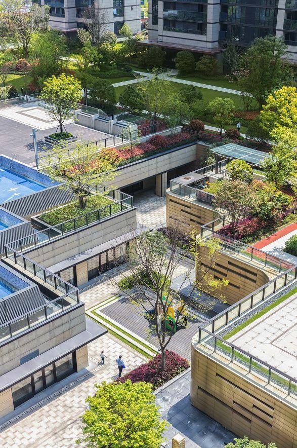 [艾景分享]杭州绿地华家池印|池畔明辉再