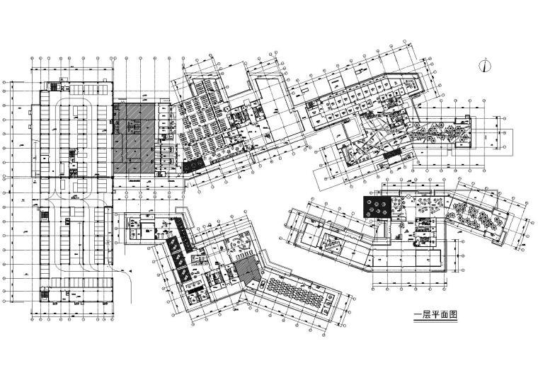 [杭州]阿里巴巴总部建筑工程施工图+效果图
