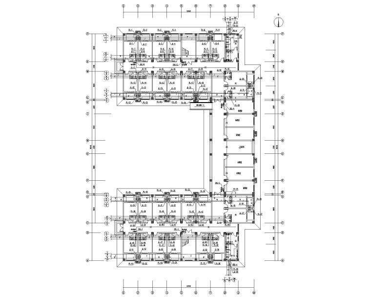 教师公寓楼给排水消防系统设计施工图