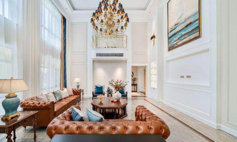 496m²美式轻奢别墅,诗意生活的淡雅宁静!