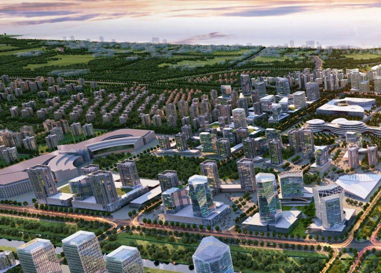 [河北]北戴河新区中心城区综合城市设计文本