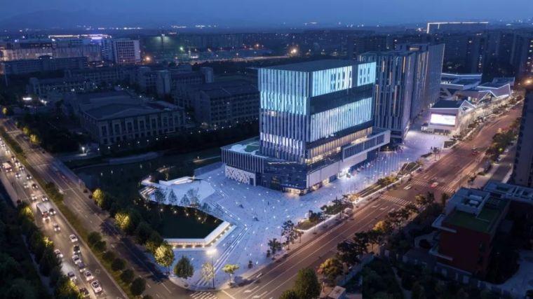 折线艺术|杭州华策总部综合体