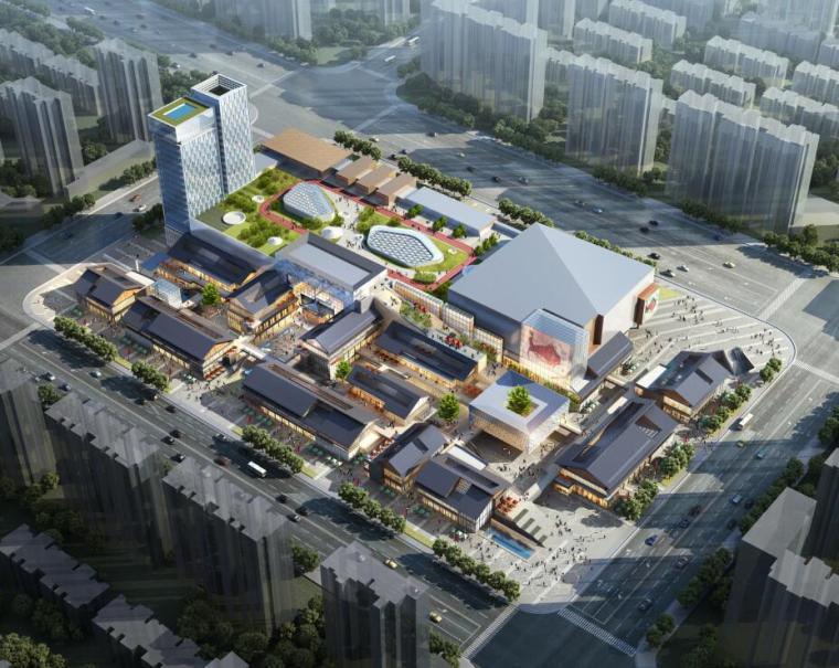 [四川]新中式风格活力源商业综合体文本