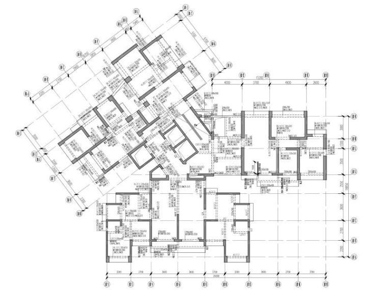 绿建|4栋超高层住宅楼全套施工图(含幼儿园)
