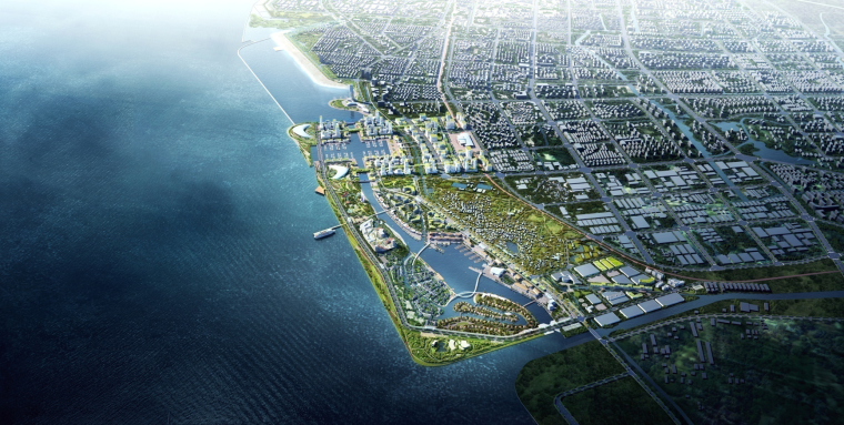 [上海]金山海岸现代滨海渔村城市设计文本