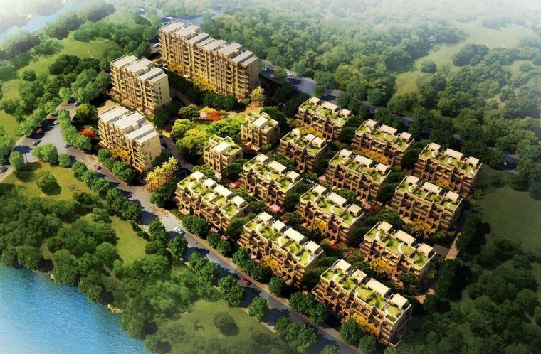 上海·旭辉江湾墅住宅欧式风格建筑设计
