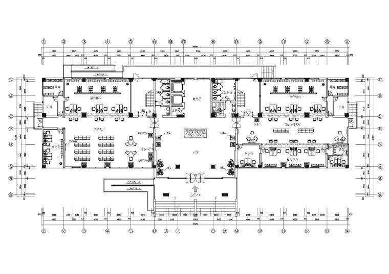 [江苏]美瑞德-人民政府财税办公大楼施工图
