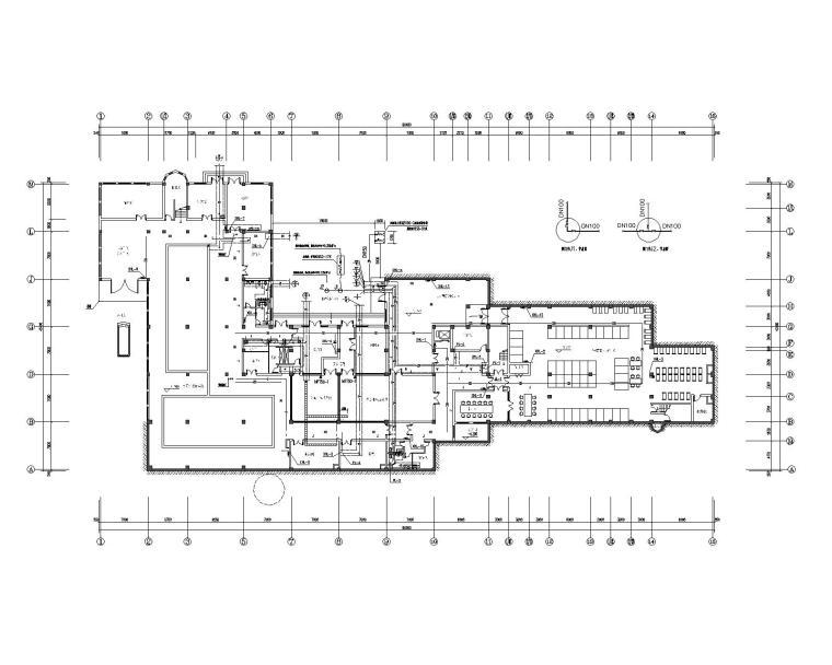 丹凤金山葡萄酒庄给排水设计施工图