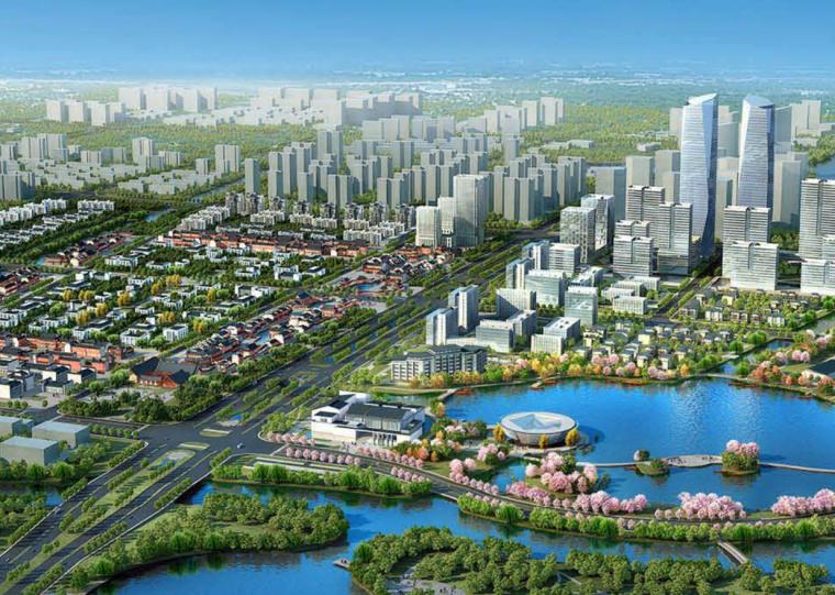[浙江]西塘交通新城核心区水乡城市设计文本