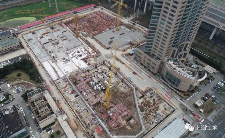 被高楼高架浅基础'重围'的超大深基坑工程_12