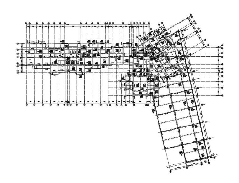 2栋二层梁配筋图