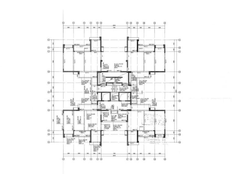 绿建|部分框支剪力墙高层公共建筑全套图