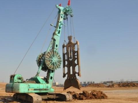 挖斗式挖槽机