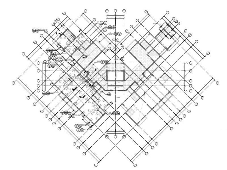 4栋33层模板图