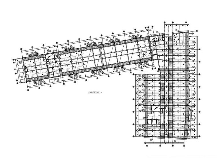 [深圳]12层框架结构员工宿舍建筑结构施工图