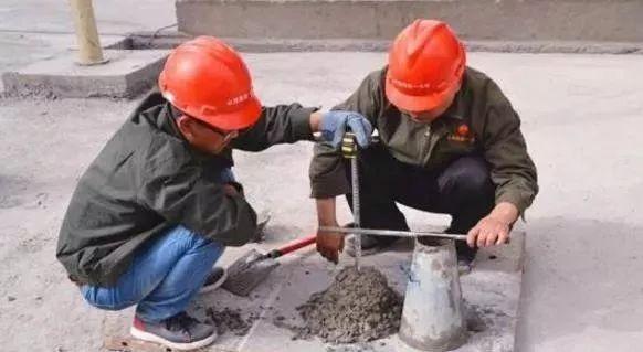 混凝土水灰比和塌落度的相互关系