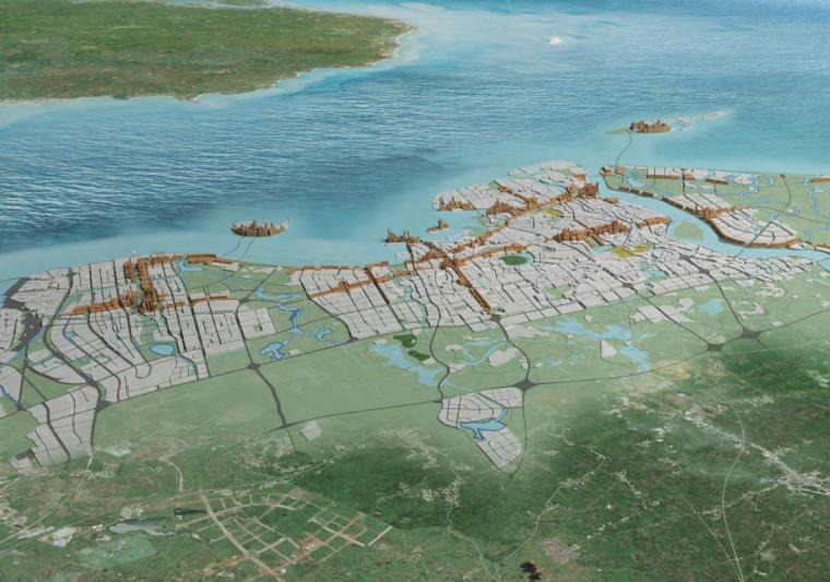 [海南]海口总体城市设计研究报告建筑方案图