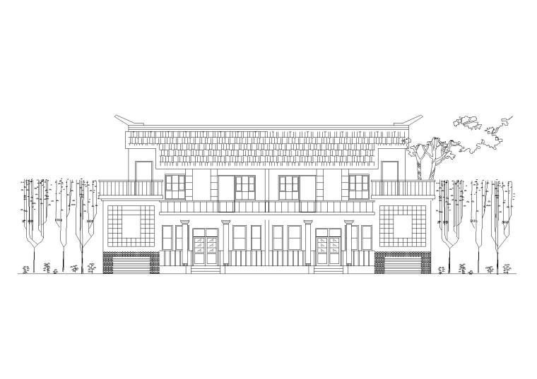 新农村小康两层/三层独院式住宅建筑施工图