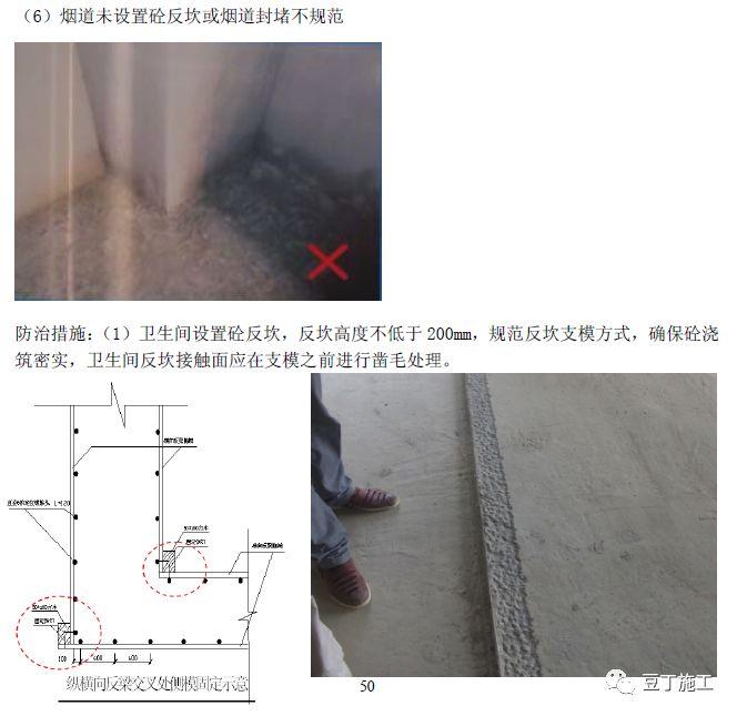 住宅工程主体结构质量通病及防治措施21条!_51