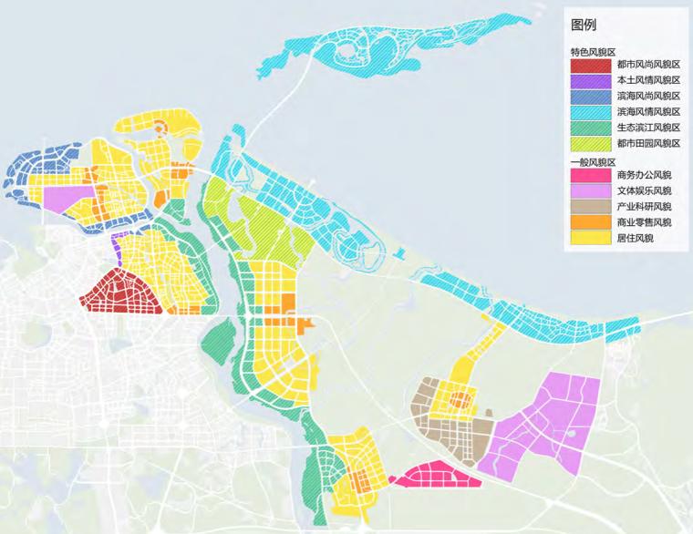 海口总体城市设计研究报告美兰区风貌控制