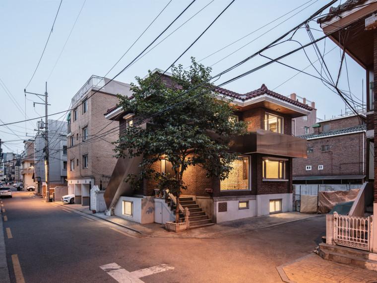 韩国SalonGuui住宅兼办公建筑