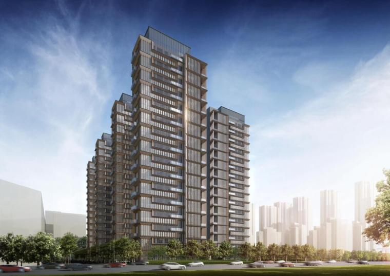 [河南]现代风格高层住宅方案设计