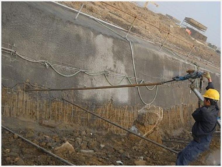 高切坡喷锚支护工程施工方案