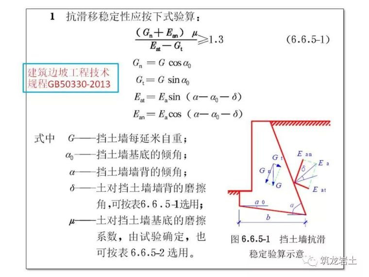 一文讲透抗滑挡土墙设计及计算,附实例解析_31