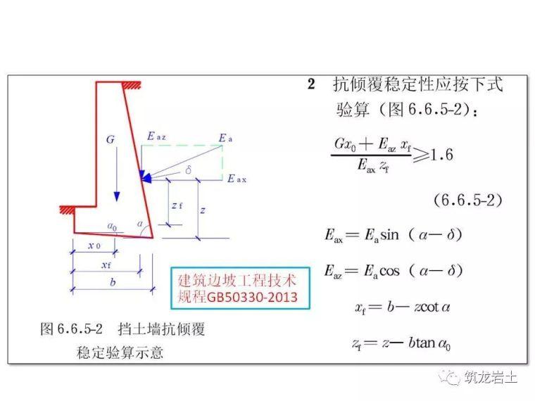 一文讲透抗滑挡土墙设计及计算,附实例解析_32