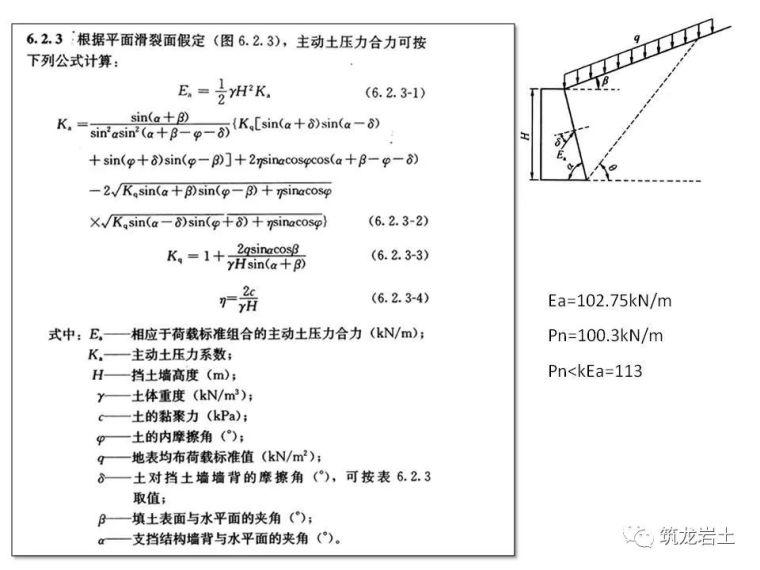 一文讲透抗滑挡土墙设计及计算,附实例解析_46