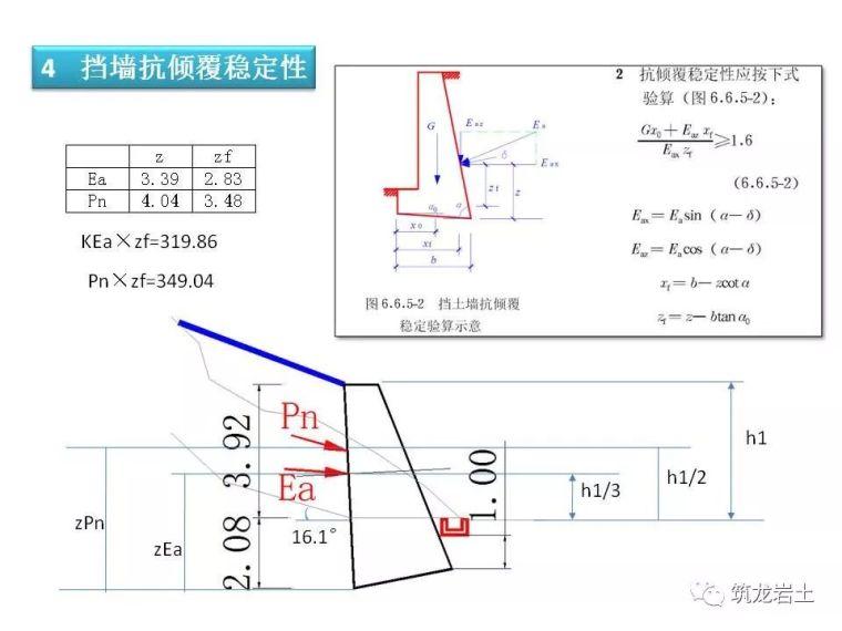 一文讲透抗滑挡土墙设计及计算,附实例解析_48