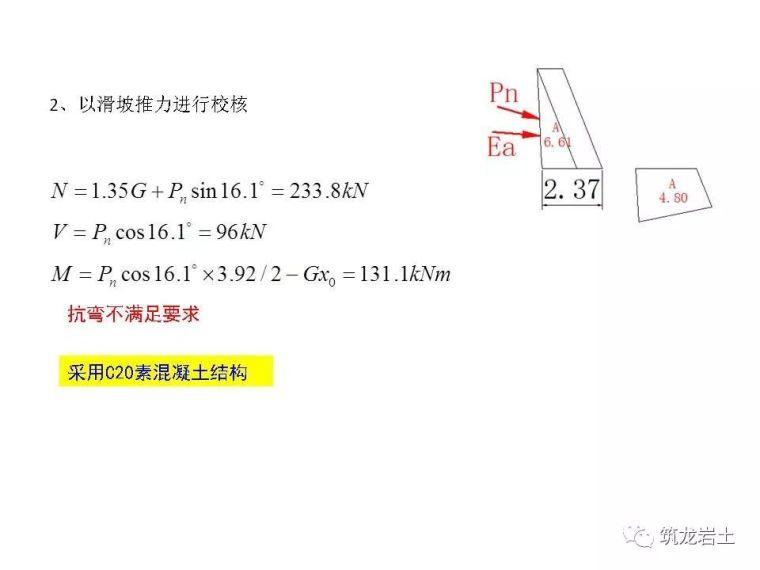一文讲透抗滑挡土墙设计及计算,附实例解析_64