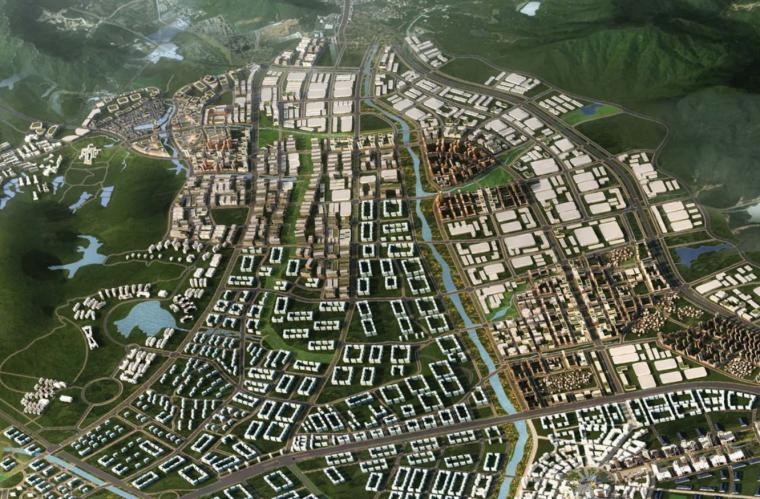 [广东]唐家湾开放街区城市设计建筑方案文本