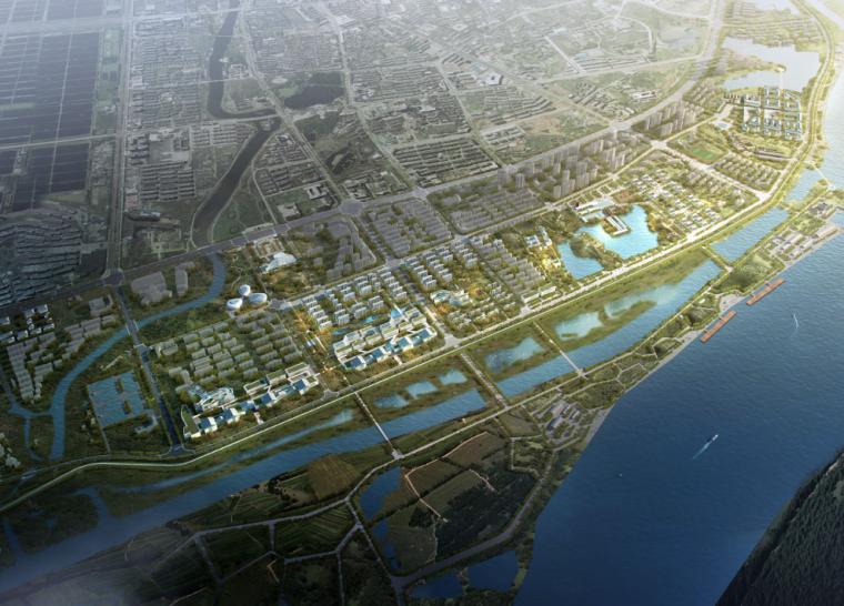 [安徽]池州主城区滨江生态城市设计方案文本