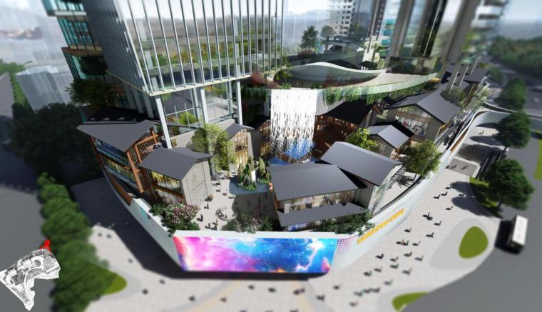 [重庆]超高层综合体商业办公住宅建筑设计
