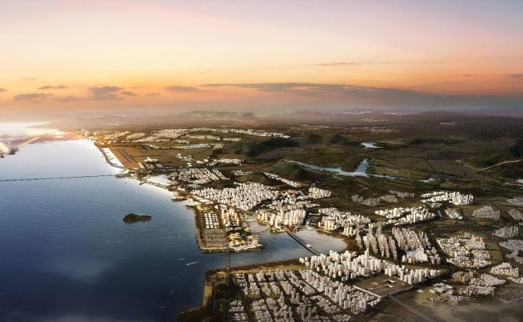 [深圳]沿海城市设计投标项目建筑方案文本