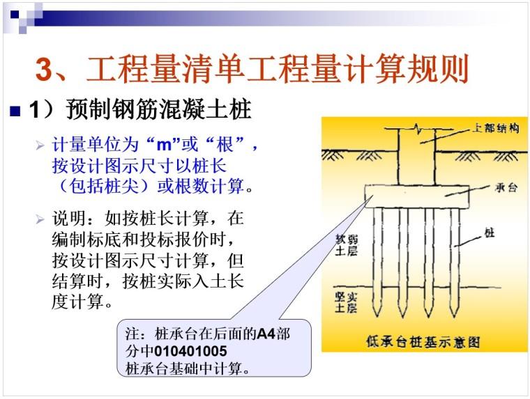 3、工程量清单工程量计算规则
