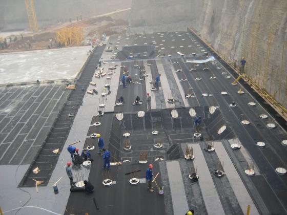 建筑防水SBS屋面防水