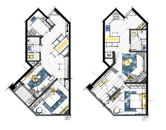 室内装修设计平面布置图参考-749张