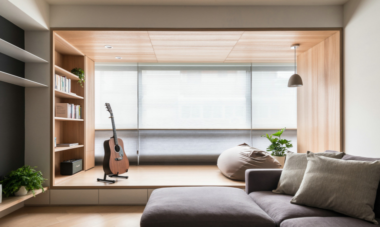 室内装修飘窗设计参考案例-87张